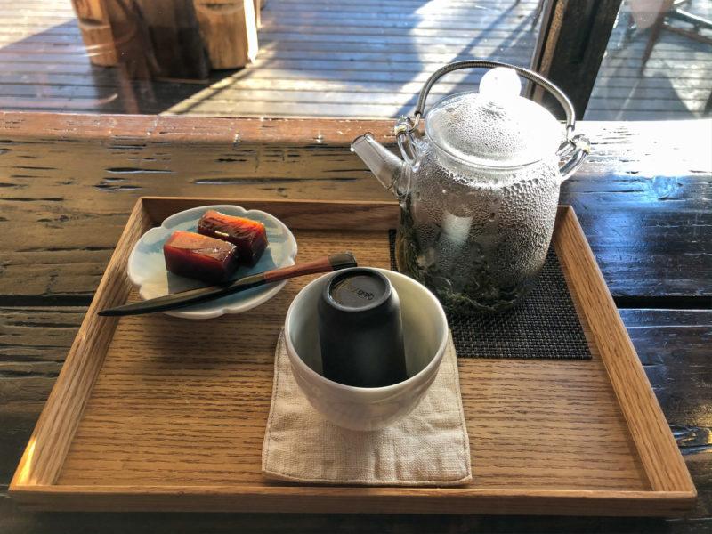 宇都宮 カフェ 台湾茶セット 京屋茶舗