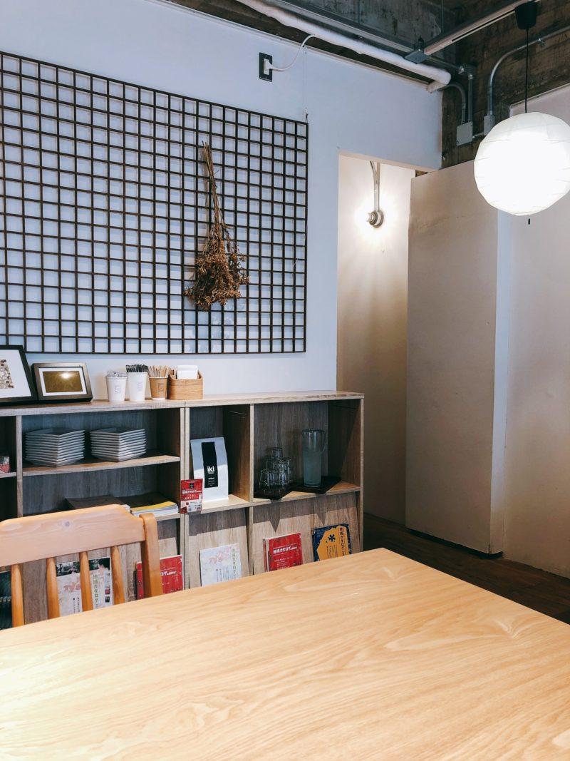 和倉カフェの店内