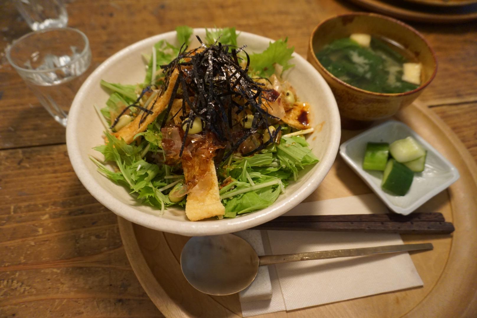 スターネットのメニュー おぼろ豆腐丼