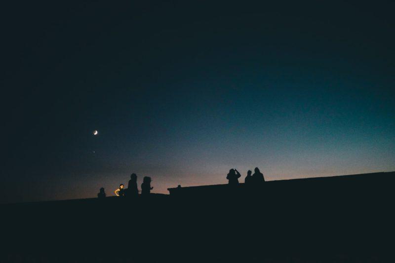天体観測の注意点
