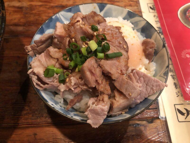 鶏そばHIBARI(ひばり)のチャーシュー丼